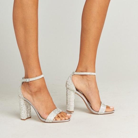 0324b35ff54 Steve Madden Shoes | Carrson R Crystal Heels | Poshmark